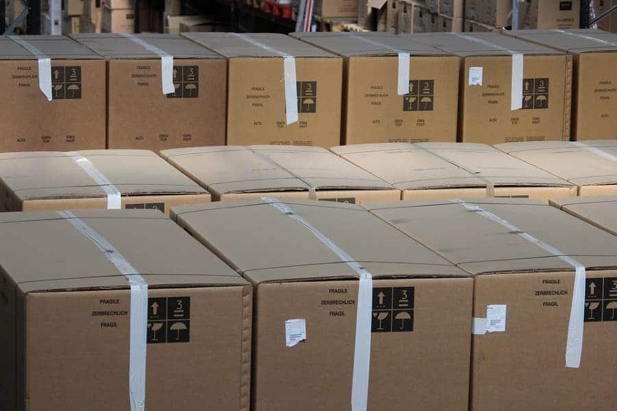 distributie van pakketten